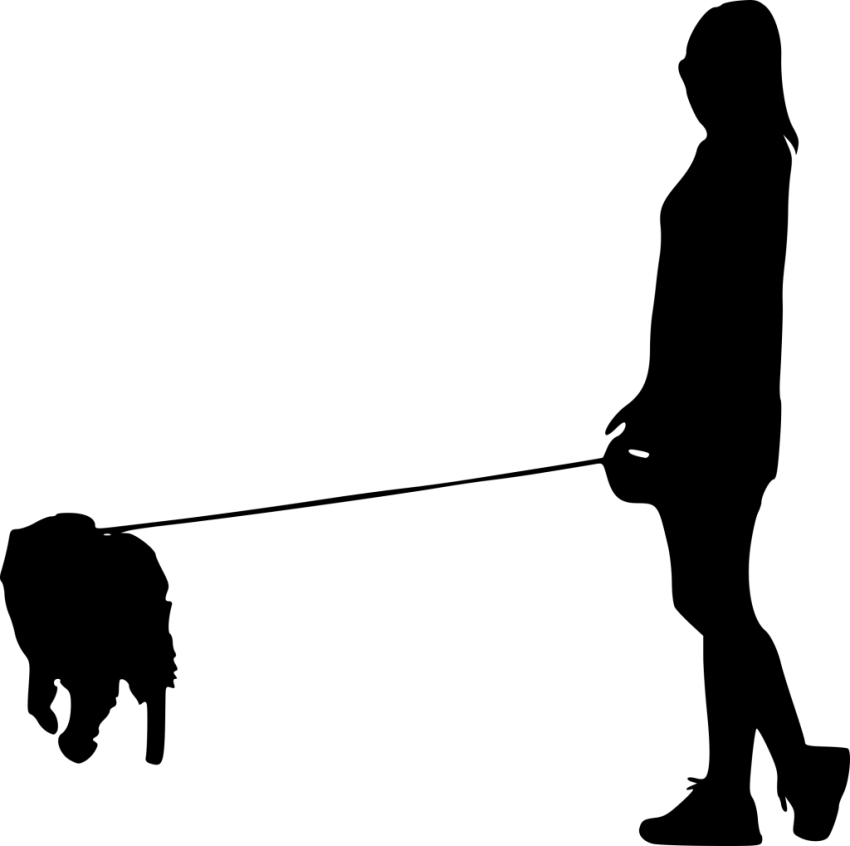 Dog walking png. Silhouette free images toppng