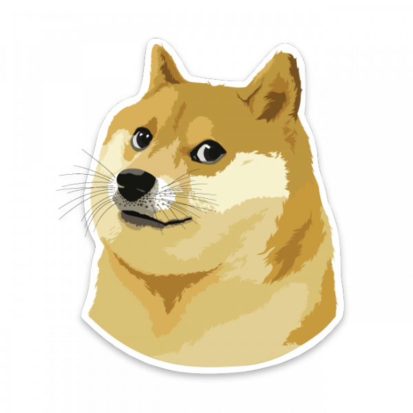 Doge meme png. About the memes category