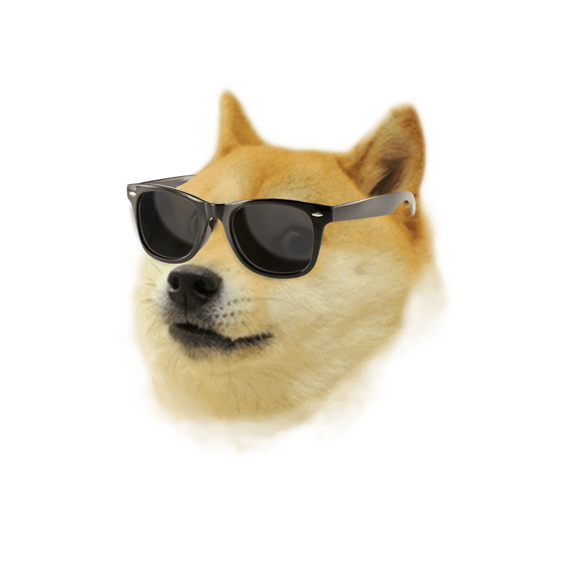 Wow meme png. Dogecoin the greatest in