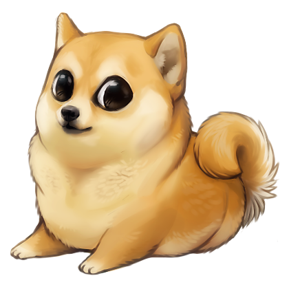 Doge wow png. Much cute pinterest chibi
