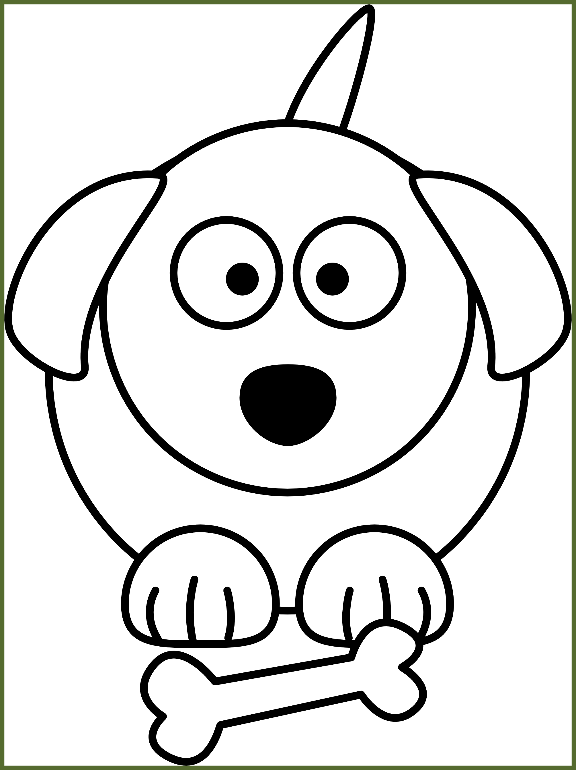 Dogs vector line. Cute dog png royalty