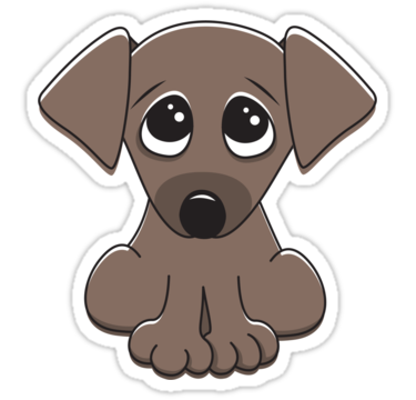 Doggy drawing cartoon. Cute dog pictures image