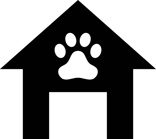 Doghouse clipart transparent. Dog house outline clip