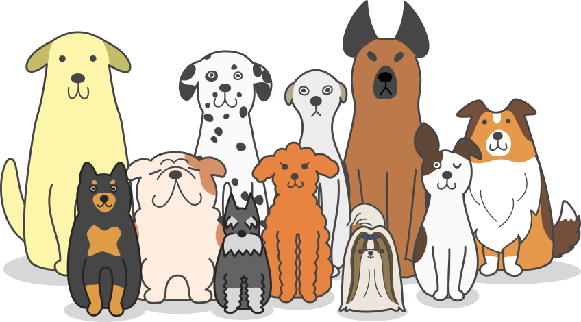 Dogs cartoon png. Kelly s mobile pet