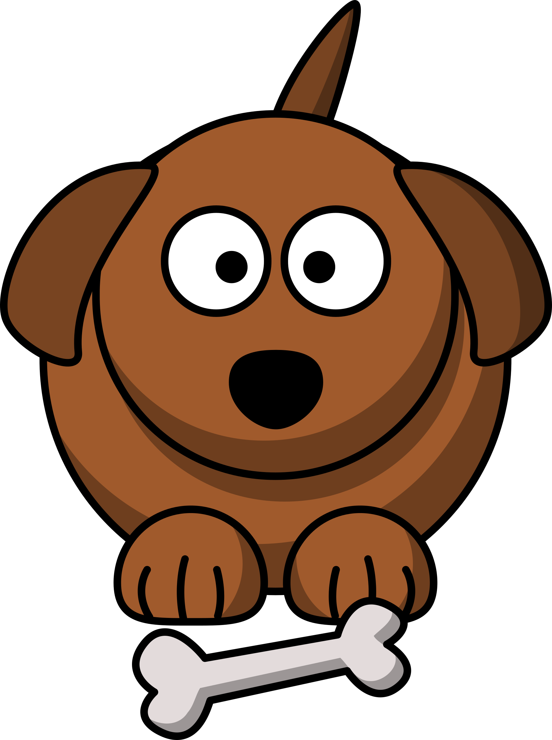 Dogs clipart cartoon. Dog big image png