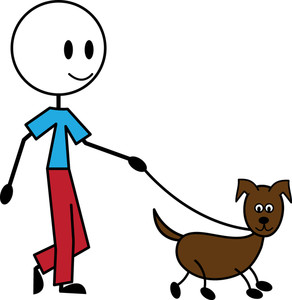 Dogs clipart person. Free pet image animal