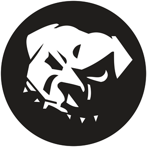 Dogs vector black and white. Dog logo cdr free