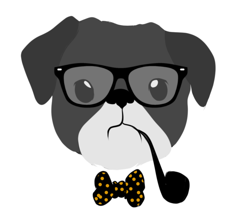 Dogs vector hipster. Commission dog by laikendesignz