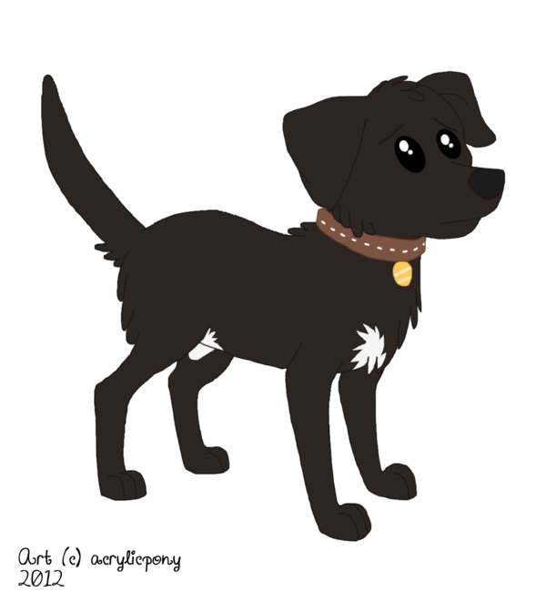 Dogs vector pet dog. Lucky mlp style by