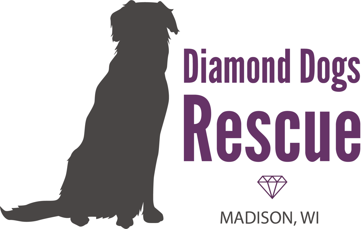 Dogs vector pet dog. Diamond rescue llc