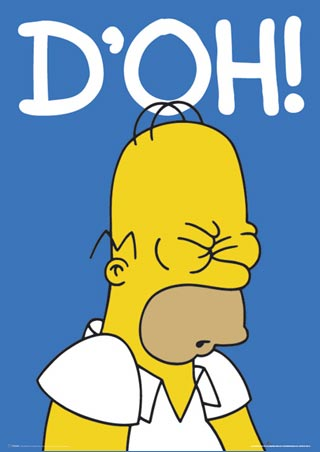 Doh clipart bart simpson. D oh know your