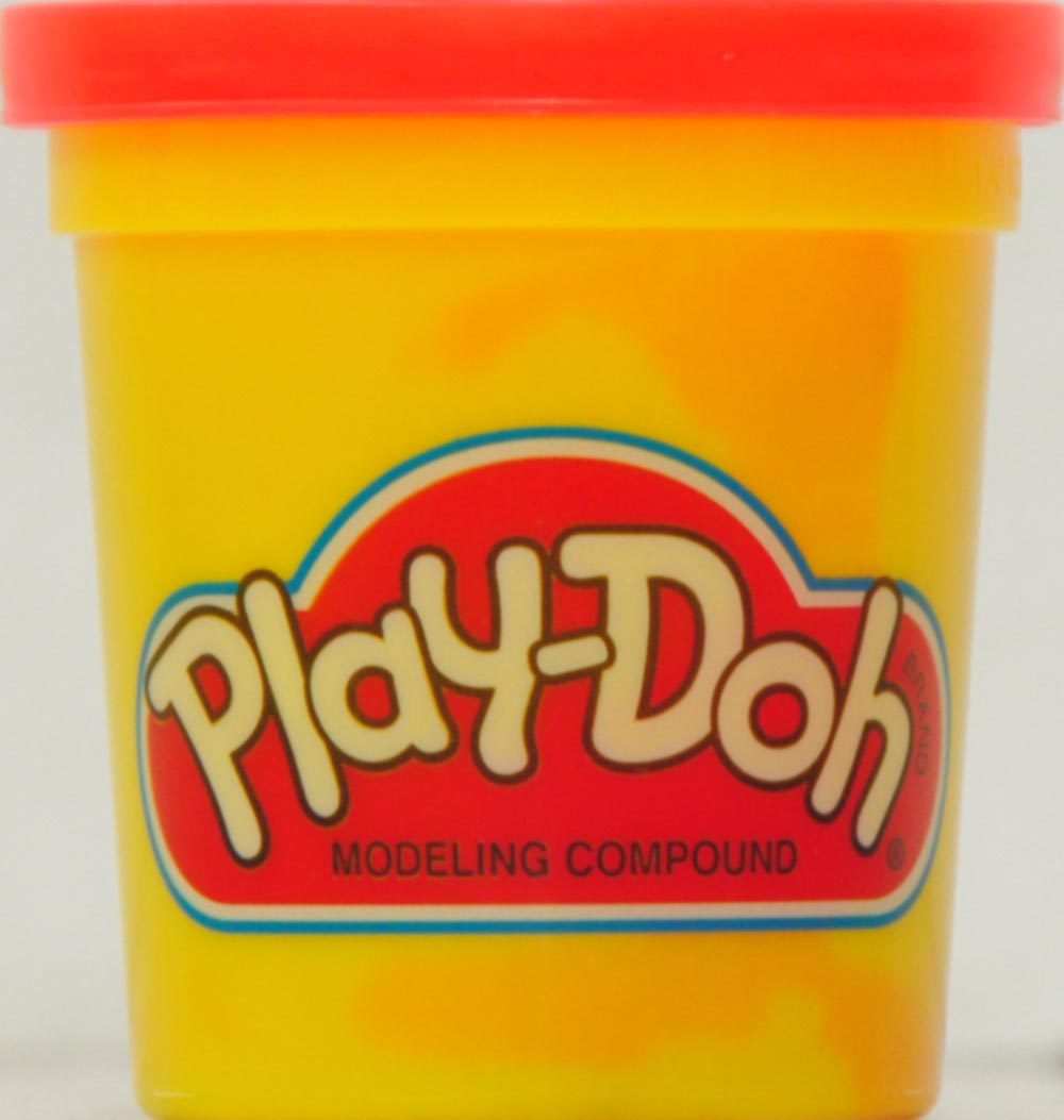 Doh clipart playdough container. Play single can assortment