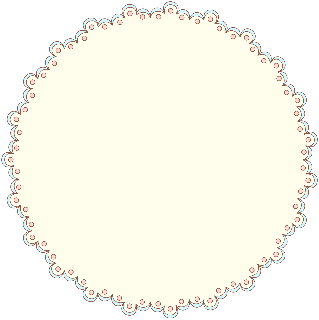 Doily png. Free clipart designer resources