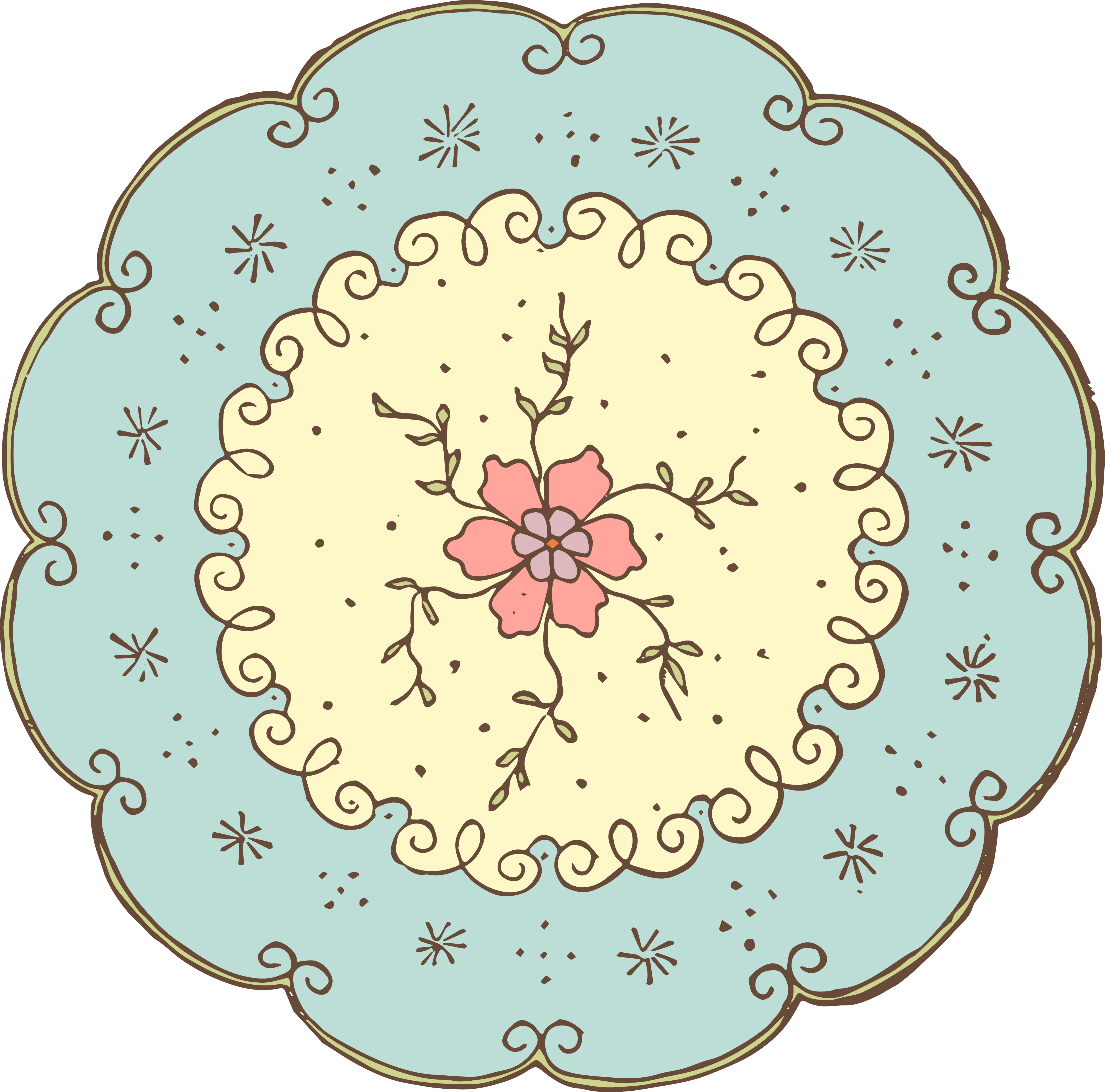 Doily transparent 10 inch. Free cliparts download clip