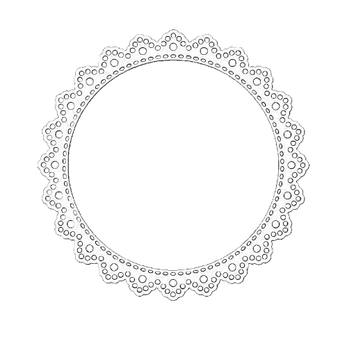 Doily transparent. Images about collage