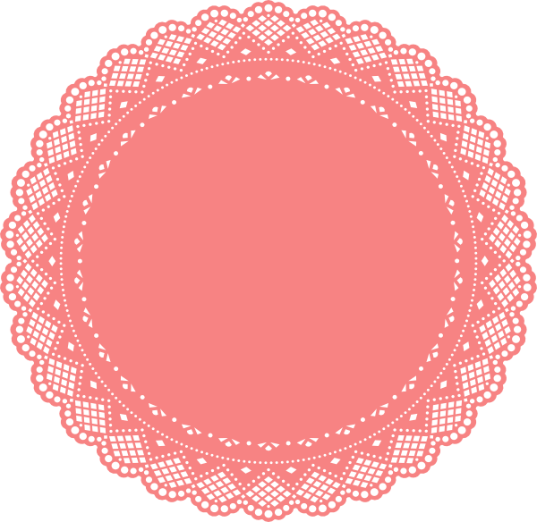 Doily transparent silhouette. Doiley clipart google search
