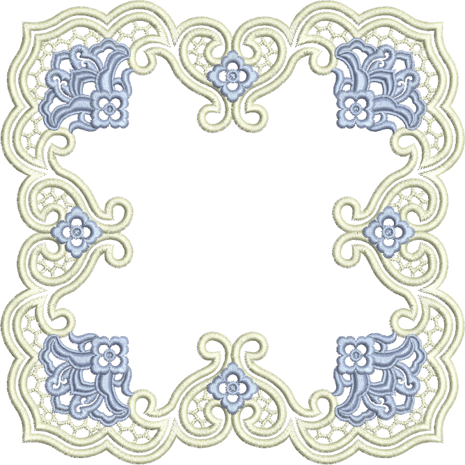 Doily transparent square. Sue box creations download