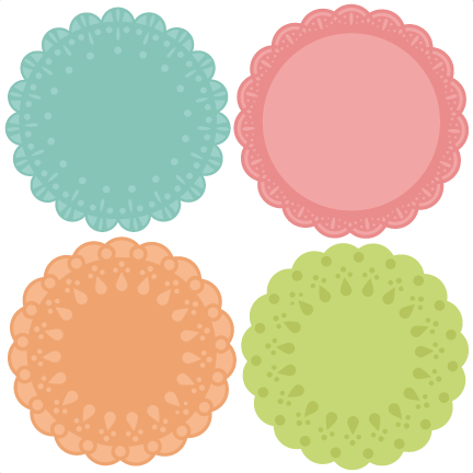 Doily transparent svg. Collection of free doyly