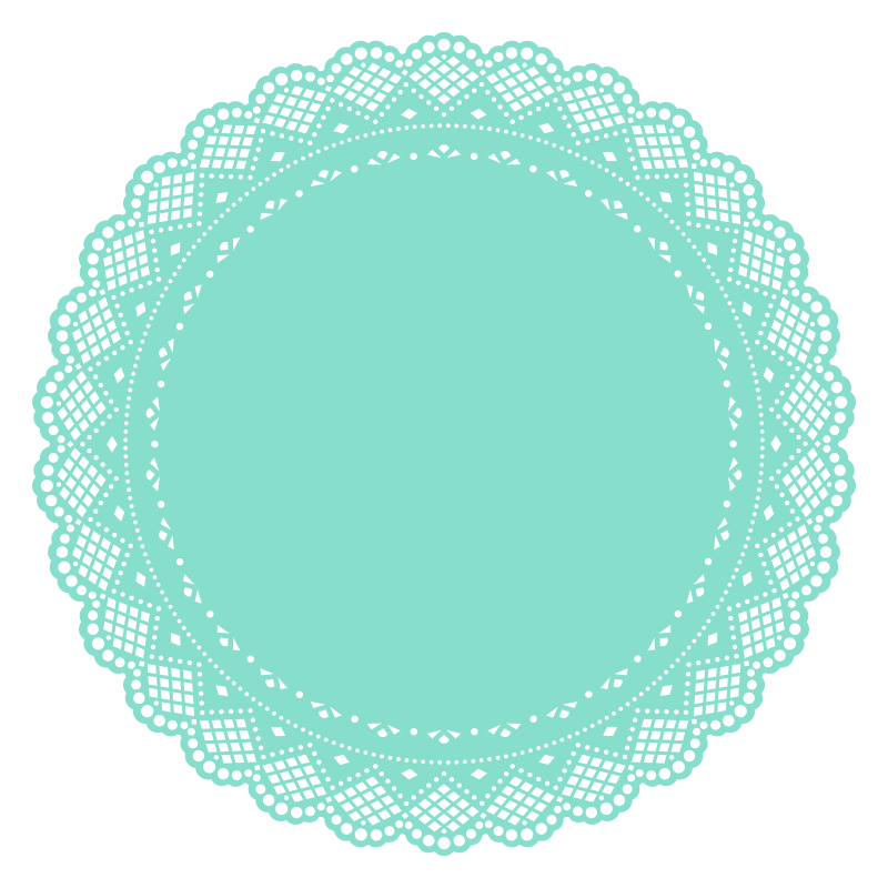 doily transparent rectangle