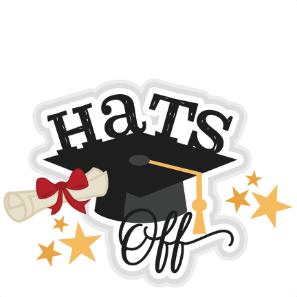 Doing clipart hat off to. Hats title svg scrapbook