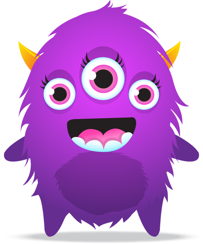 monster clipart brown monster
