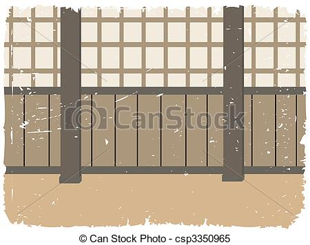 Training room traditional martial. Dojo clipart png black and white library