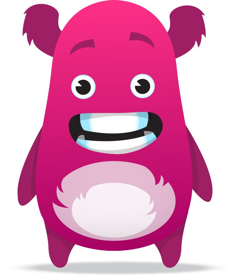 best monsters images. Dojo clipart pink image transparent library