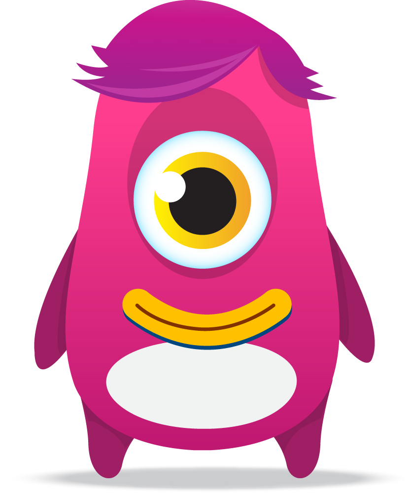 t r monsters. Dojo clipart pink clip free download