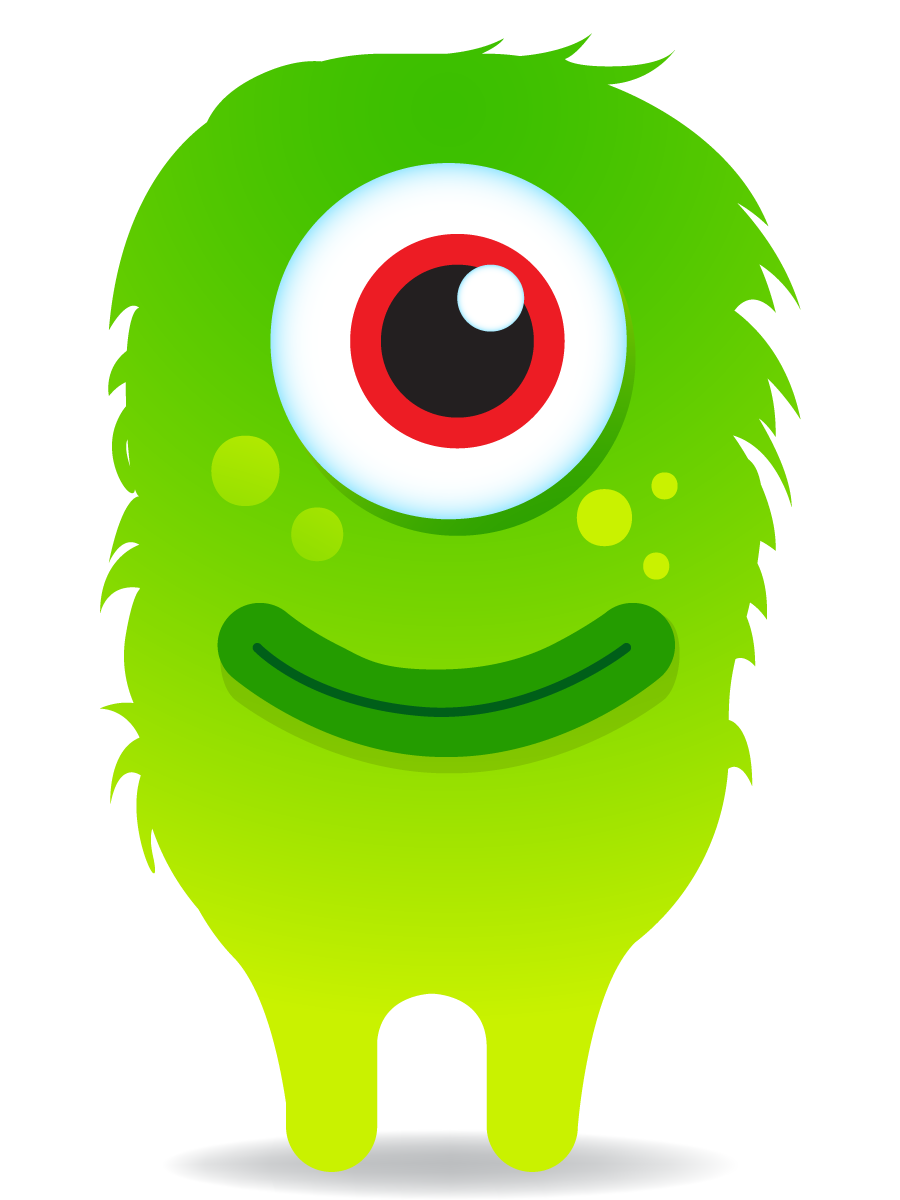 Free monster cliparts download. Dojo clipart sad picture black and white download