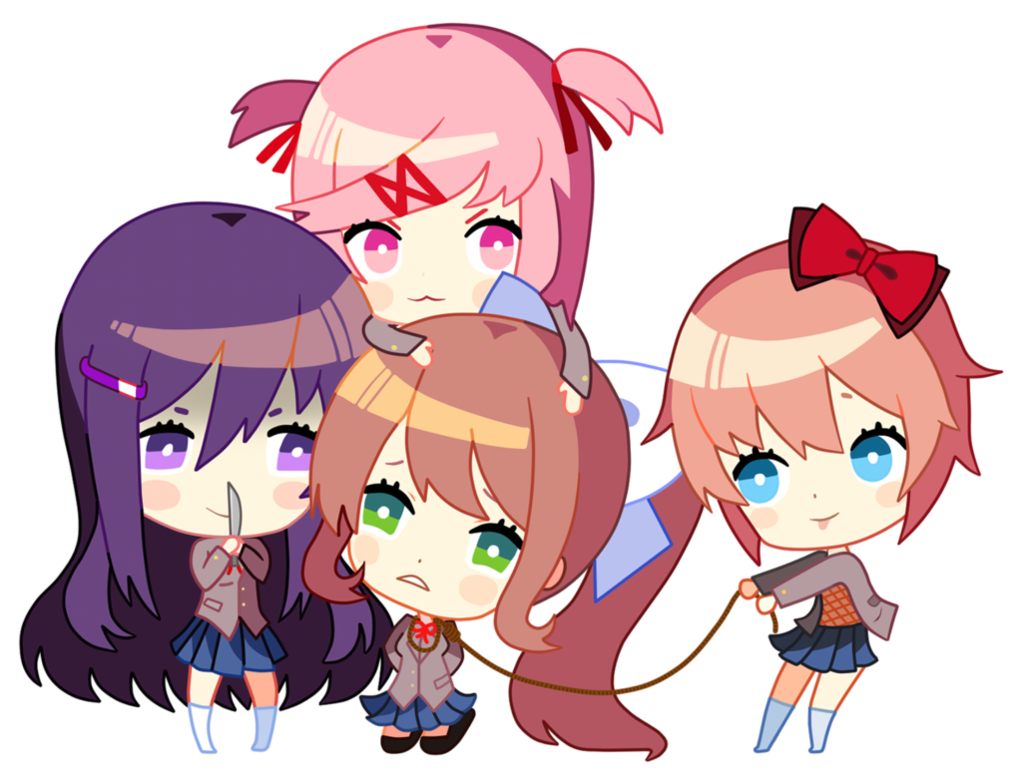 Doki doki literature club happy thoughts png. Now it s your