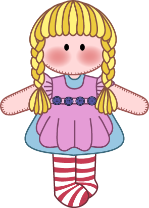 Dolls clipart. Free doll cliparts download