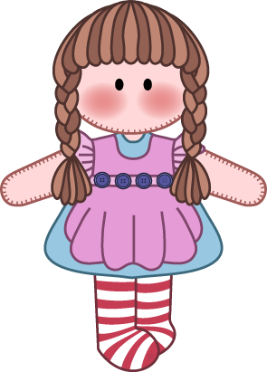 dolls clipart pretty doll