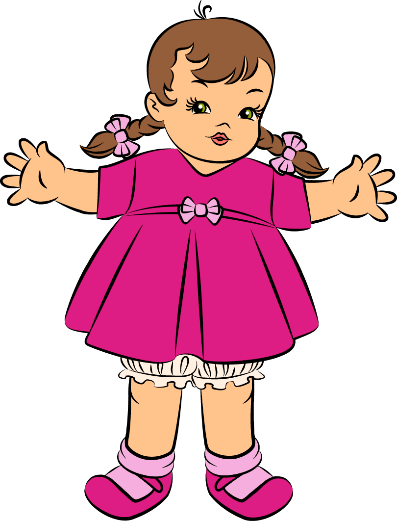 dolls clipart baby doll (810x1062)