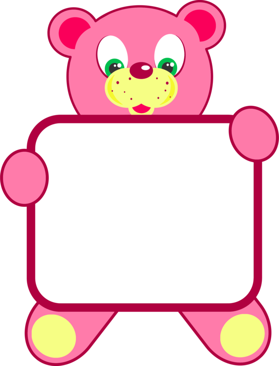 Teddy bear stuffed animals. Frame clipart toy banner download