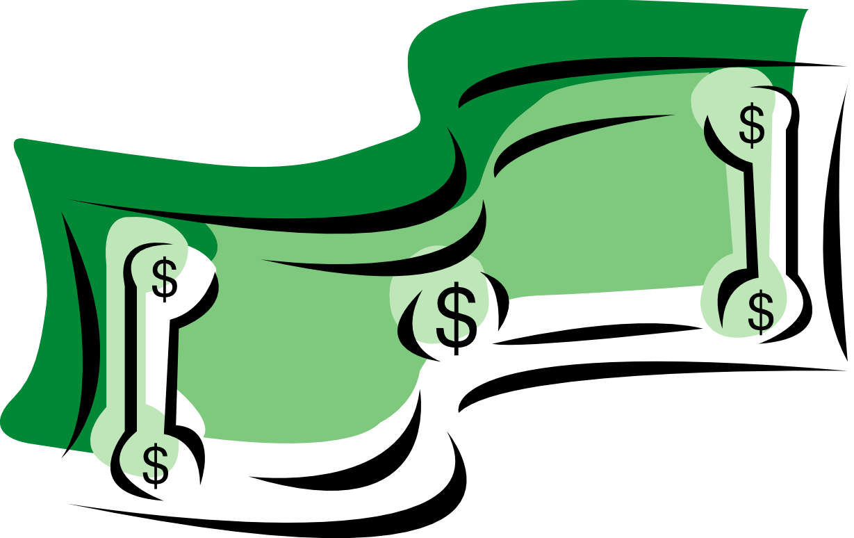 Dollar bill clipart png. Collection of sign