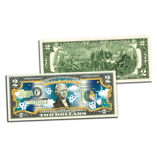 Dollar bill png. The original tooth fairy