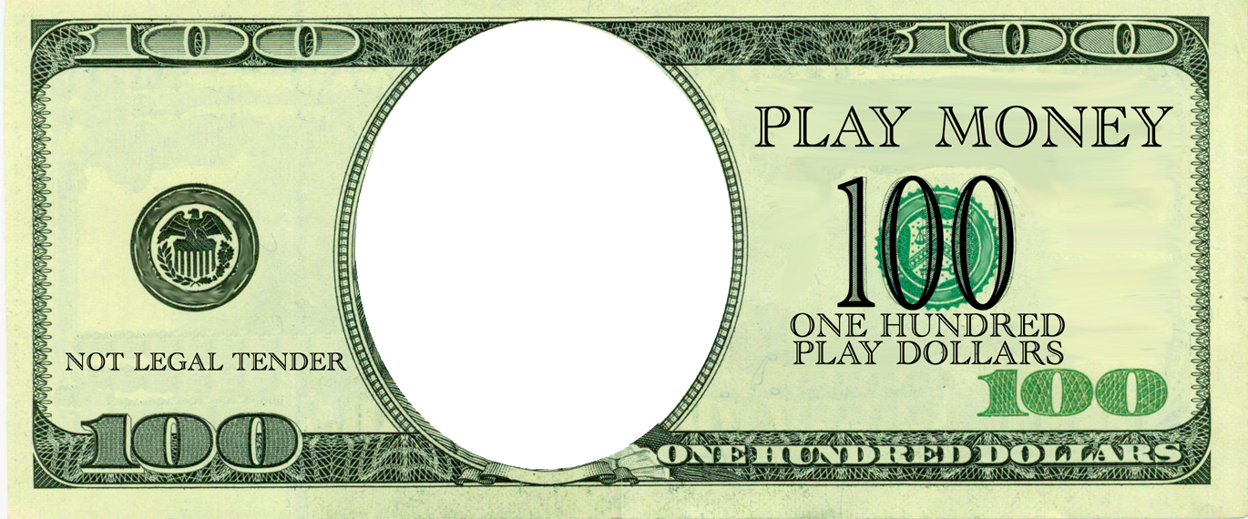 Dollar bill template png. Fake money april onthemarch