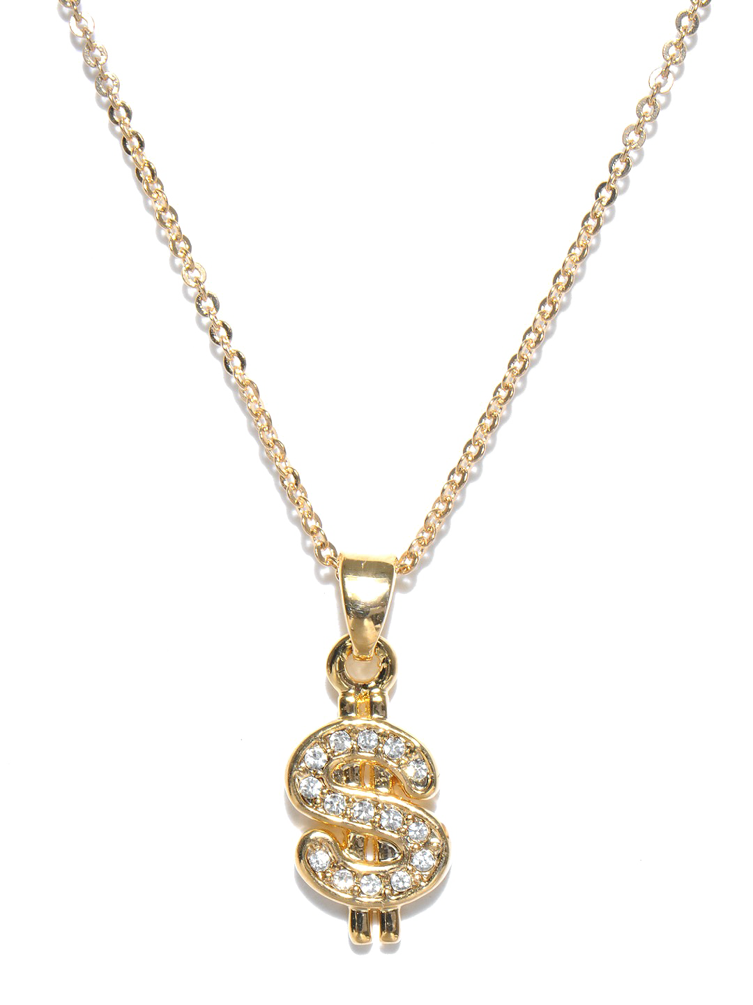 Dollar transparent gold chain. Thug life image png