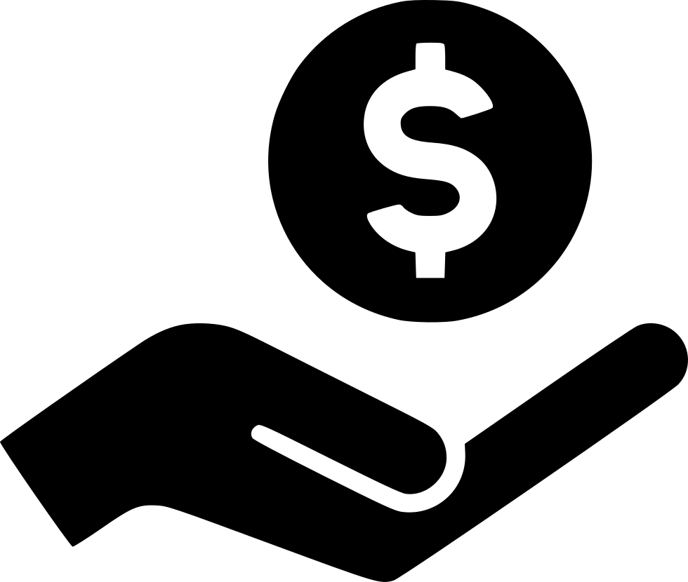 Dollar icon png. Hand svg free download