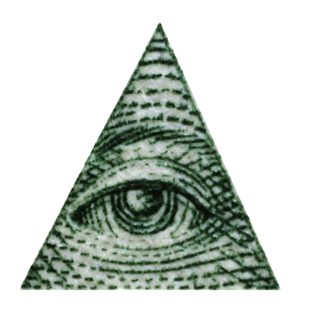 transparent pyramid all seeing eye