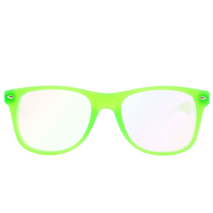 Dollar sign glasses png. Ultimate diffraction glow green