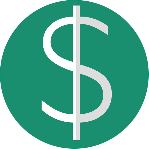 Dollar sign png green. Minimal utility by amin