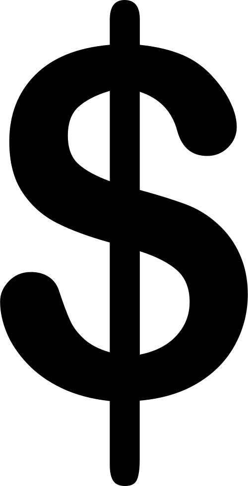 Dollar sign png icon. Svg free download onlinewebfonts