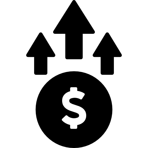 Dollar sign png icon. Rates free business icons