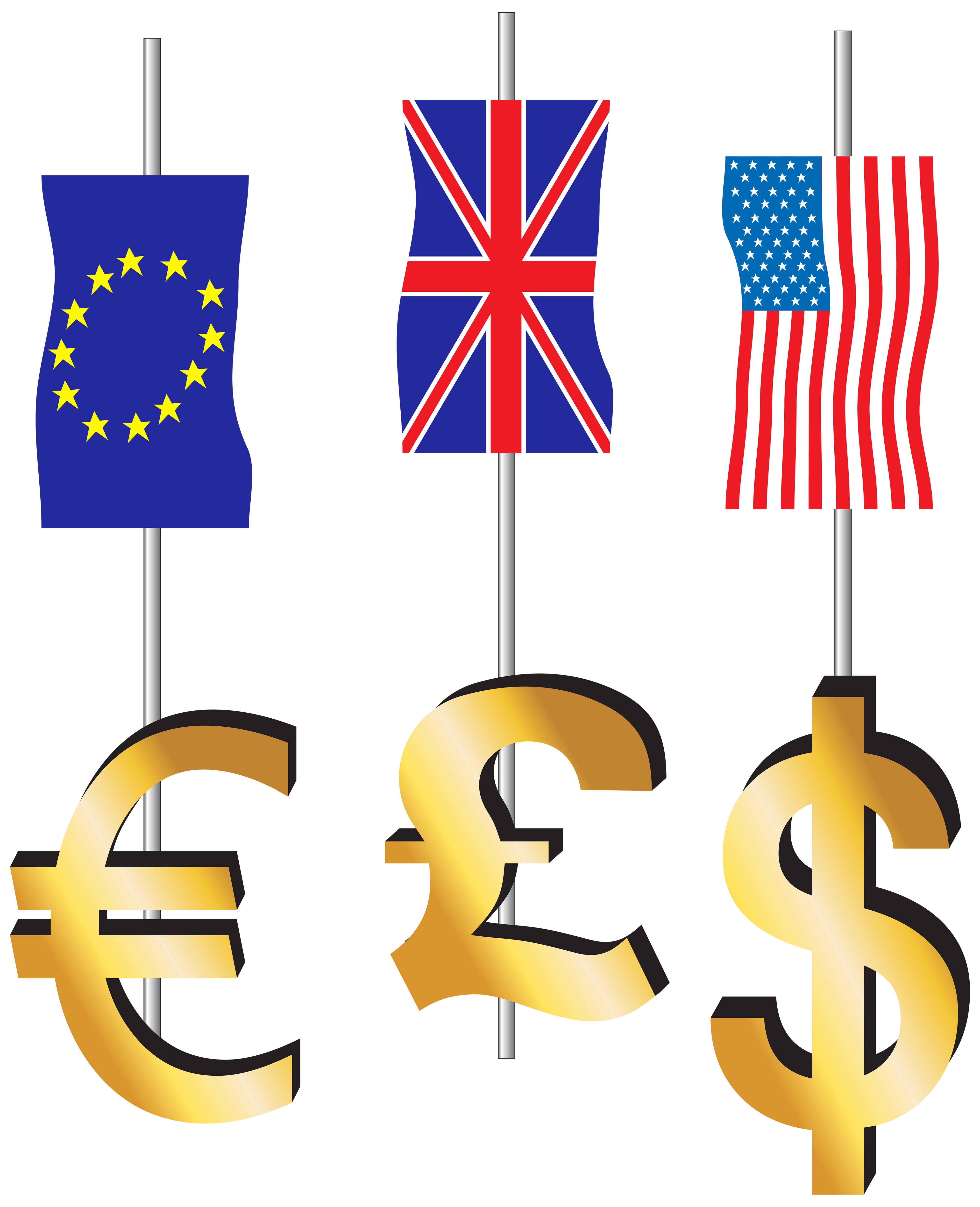 Dollar sign png transparent. Euro pound signs and