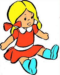 Dolls clipart. Free doll