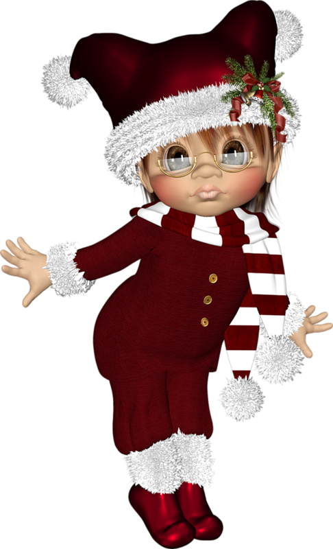Dolls clipart christmas. Cookies cookie tubes pinterest