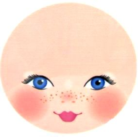 Dolls clipart doll face. Best eyes faces