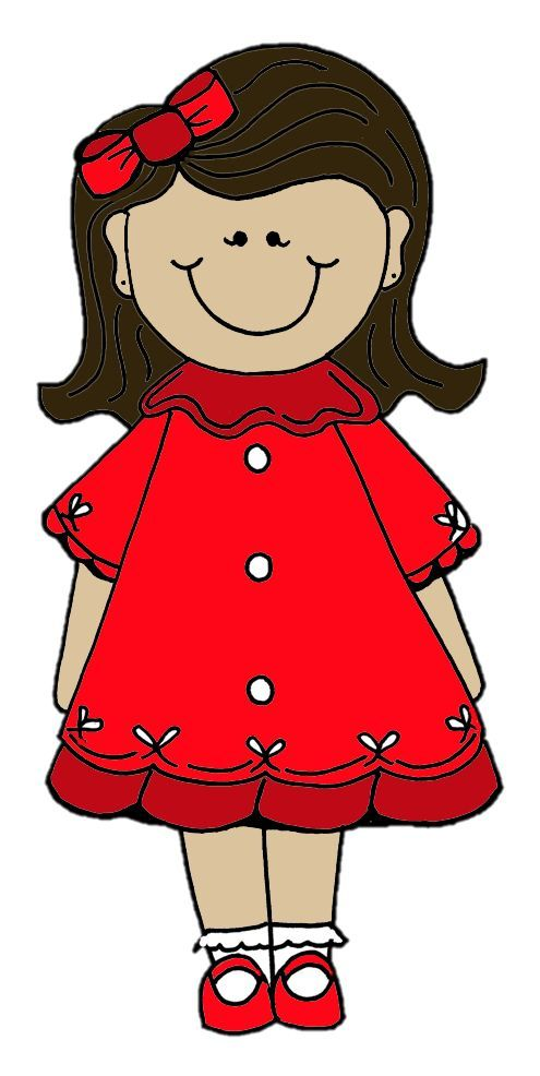 best bonecas images. Dolls clipart red doll picture download