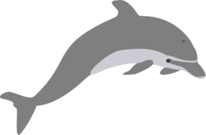 Dolphin clipart. Jumping outline panda free